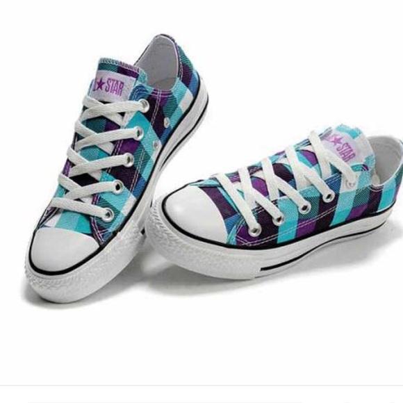 blue converse boots